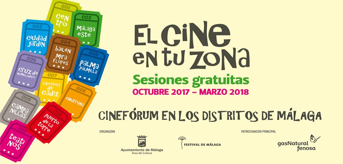 El cine en tu zona (del 3 de octubre al 22 de marzo de 2018)