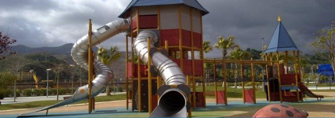 Inspeccionar e modificación estructural del tobogán circular para prevenir futuros accidentes de menores Parque de la Alegría en Ciudad Jardín