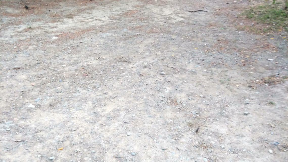 Retirada de basura acumulado sobre el arroyo Parque Urbano Ciudad Jardín