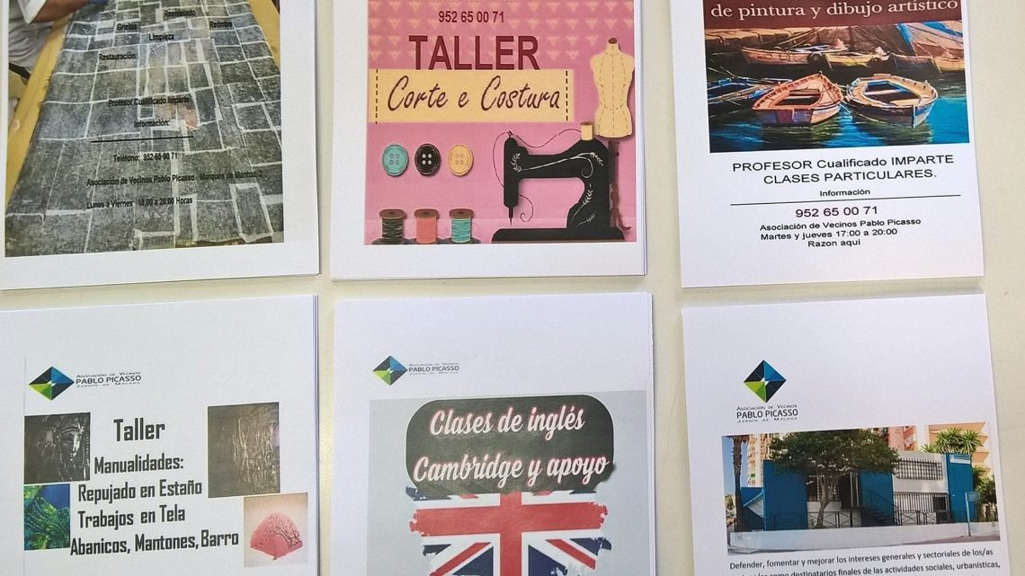 JORNADA DE PUERTA ABIERTA CENTRO DE SALUD Hoy la Asociación de Vecinos Pablo Picasso Jardìn de Màlaga