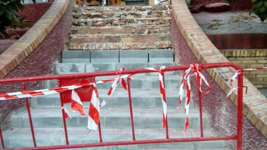 Remodelaciòn de escaleras e peldanos fracturado CL Cristóbal de Virués