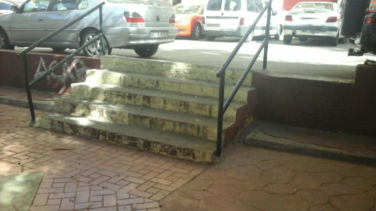 Fijacion barandilla Medida de protección lateral en ALCALDE NICOLAS MAROTO
