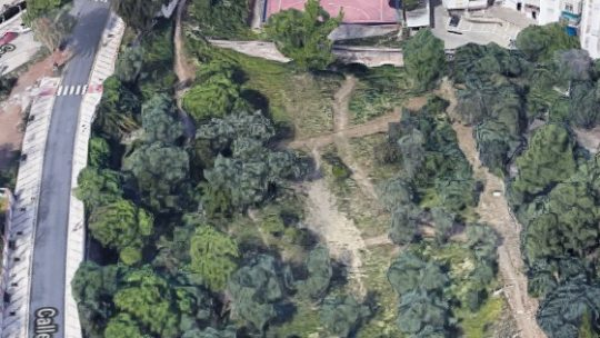 Acondicionamiento Parque Forestal 'El Nogal',Solicitado por Asociación de Vecinos Pablo Picasso Jardìn de Màlaga