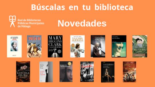 últimas adquisiciones en el catálogo Biblioteca Dámaso Alonso (Jardín de Málaga)