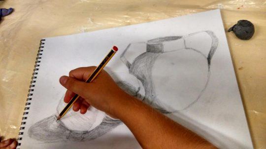 Dibujo técnico e Artístico Pintura menores y mayores Asociación de Vecinos Pablo Picasso Jardìn de Màlaga