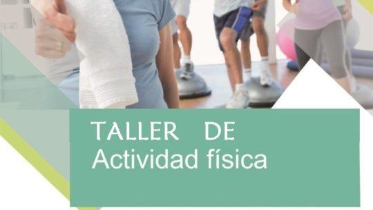Taller de actividad física lugar Asociación de Vecinos Pablo Picasso Jardìn de Màlaga Lunes 7 octubre de 09 a 09.30 horas