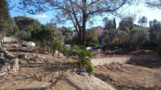 Evolución del Parque Forestal El Nogal Solicitado por Asociación de Vecinos Pablo Picasso Jardìn de Màlaga