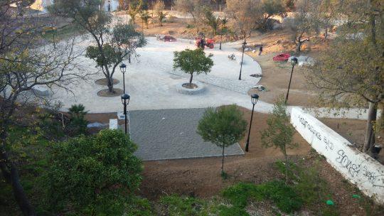 Evolución del Parque Forestal, El Nogal. Solicitado por Asociación de Vecinos Pablo Picasso Jardìn de Màlaga
