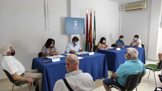 Asociación de Vecinos Pablo Picasso Jardìn de Màlaga PRESENTES en el Consejo Territorial en Ciudad Jardín Distrito 3. 14 de julio 2020, a las 18 horas. ORDEN DEL DÍA
