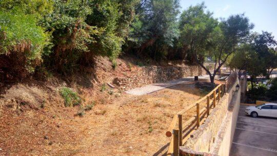 Adecuación de senderos naturalizada solicitado Asociación de Vecinos Pablo Picasso Jardìn de Màlaga