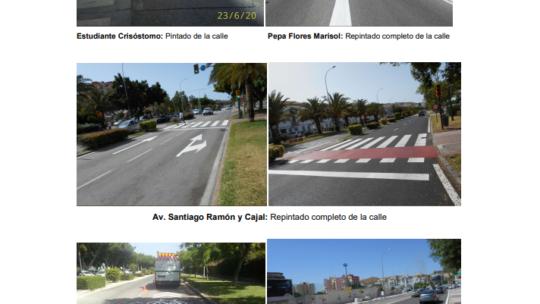 Principales actuaciones de señalización del DISTRITO 3  2020