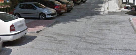 Solicitado aplicaciòn de pintura de marcas viales horizontales de paso de peatones en itinerario peatonal en calle Alcalde Nicolàs Maroto,Nº9